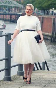 άσπρο φόρεμα ζιβάγκο