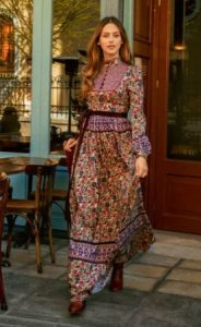 boho μακρύ φόρεμα καθημερινά φορέματα