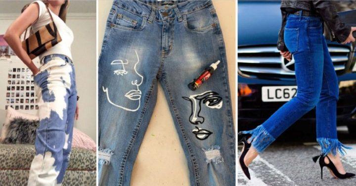 6 Έξυπνα DIYs για να μεταμορφώσεις τα τζιν παντελόνια σου!