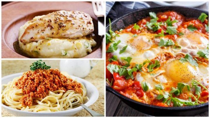 5 Εύκολες συνταγές για μεσημεριανό!