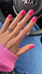 φούξια νύχια