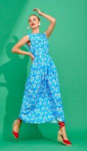 γαλάζιο φόρεμα