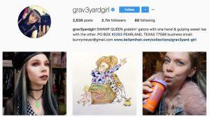 instagram graveyardgirl