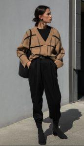γυναικείο ντύσιμο με ζακέτα