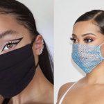ιδέες για μακιγιάζ με μάσκα