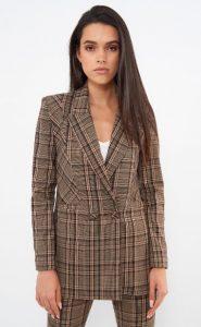 καρό γυναικείο κουστούμι