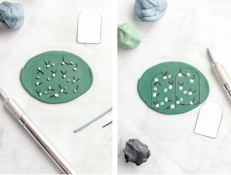 κατασκευή χειροποίητων κοσμημάτων από πηλό