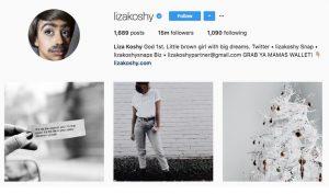 instagram liza koshy
