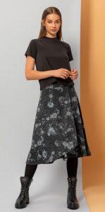 ντύσιμο με φλοράλ φούστα
