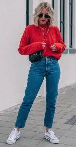 ντύσιμο με τζιν παντελόνι