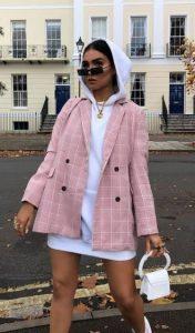 σακάκι με φούτερ outfit