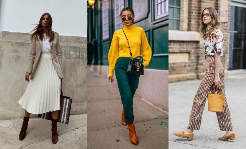 ωραίοι συνδυασμοί στα γυναικεία ρούχα