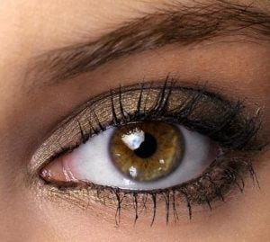 μελι ματια μπεζ σκια