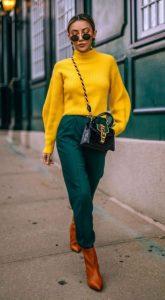 χρωματιστό outfit