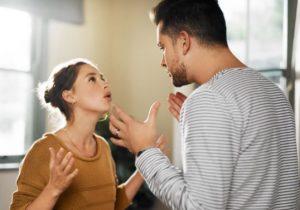 ζευγάρι που μαλώνει