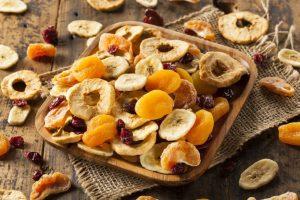 αποξηραμένα φρούτα βερύκοκο μπανάνα τροφές χάσεις λίπος