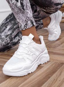 άσπρα γυναικεία sneakers