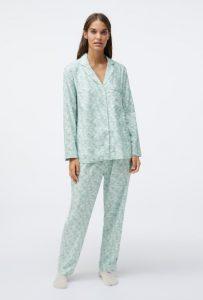 floral βαμβακερές γυναικείες πυτζάμες