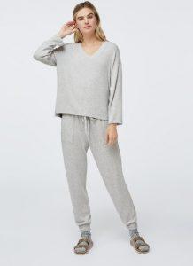 γκρι γυναικείες πυτζάμες