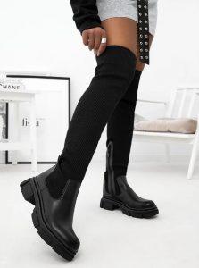 γυναικείες μπότες έως το γόνατο