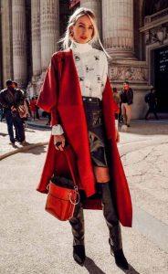 γυναικείο ντύσιμο τον χειμώνα