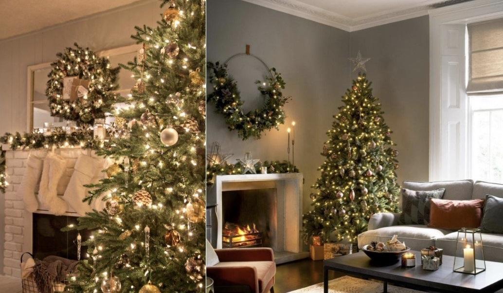 Ιδέες για χριστουγεννιάτικη διακόσμηση σαλονιού