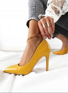 κίτρινες γόβες