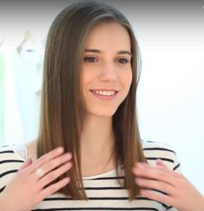 glattes trockenes Haar