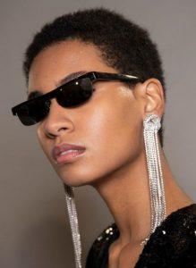κρεμαστά ασημένια σκουλαρίκια