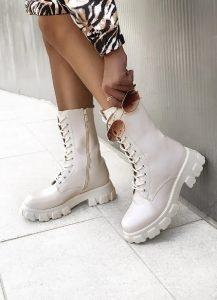 λευκές ψηλές αρβύλες