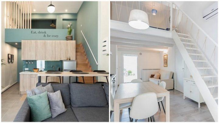 Μοναδικές ιδέες για ένα εντυπωσιακό loft διαμέρισμα!