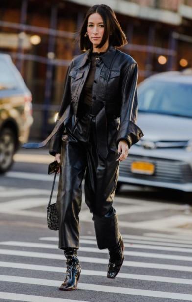 μαύρο jacket μαύρο παντελόνι
