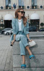 μοντέρνο ντύσιμο με κουστούμι
