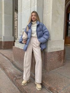 μοντέρνο χειμερινό ντύσιμο
