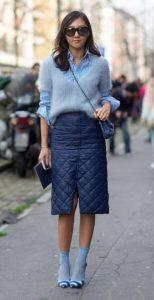 μπλε γαλάζιο ντύσιμο