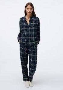 μπλε καρό πιτζάμες