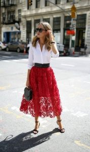 ντύσιμο με φούστα