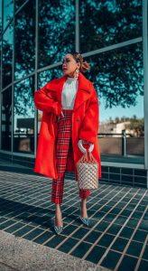ντύσιμο στα κόκκινα