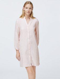 νυχτικό σε στυλ πουκάμισο