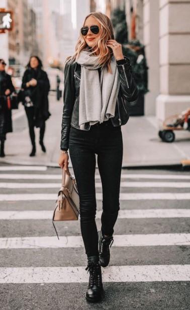 skinny jean αρβυλάκι συνδυάσεις παντελόνια μποτάκια