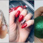 σχέδια νύχια Χριστούγεννα