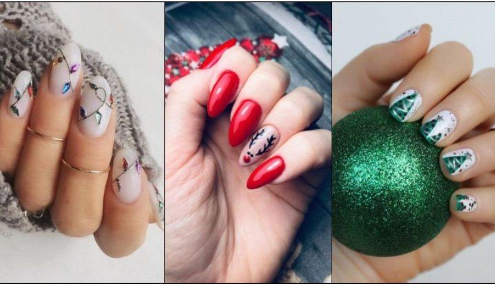 Όμορφα σχέδια για τα νύχια σου φέτος τα Χριστούγεννα!