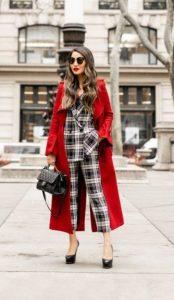 χειμερινό ντύσιμο με κουστούμι