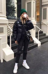 χειμερινό ντύσιμο με μπουφάν