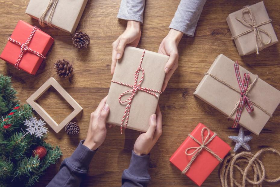 χέρια δώρα Χριστούγεννα φθηνά όμορφα δώρα