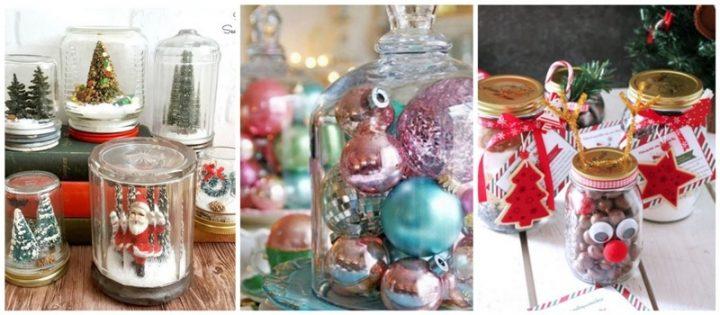 7 Εύκολες DIY ιδέες για Χριστουγεννιάτικα βάζα!