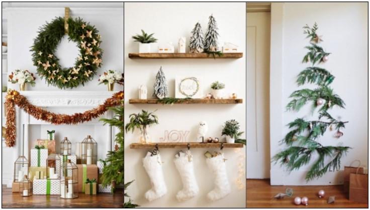 χριστουγεννιάτικα διακοσμητικά τοίχου