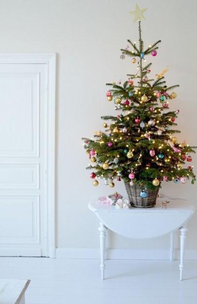 χριστουγεννιάτικο δεντράκι τραπέζι