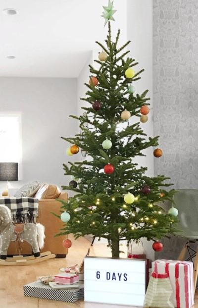 χριστουγεννιάτικο δέντρο lightbox
