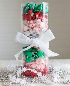 χριστουγεννιάτικο διακοσμητικό βάζο